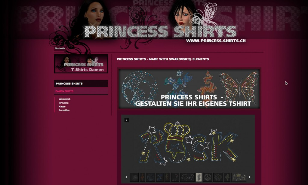 PRINCESS-SHIRTS ONLINE STORE