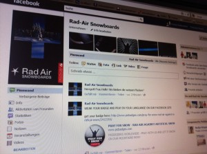 RAD AIR FACEBOOK CAMPAIN