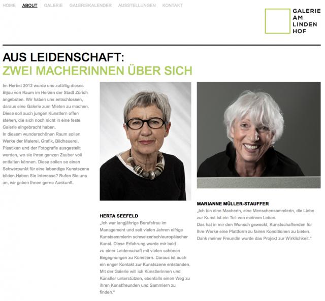 Herta Seefeld / Marianne Müller-Stauffer