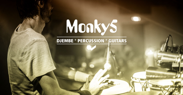 MONKY5 DJEMBE PERCUSSION GUITARS